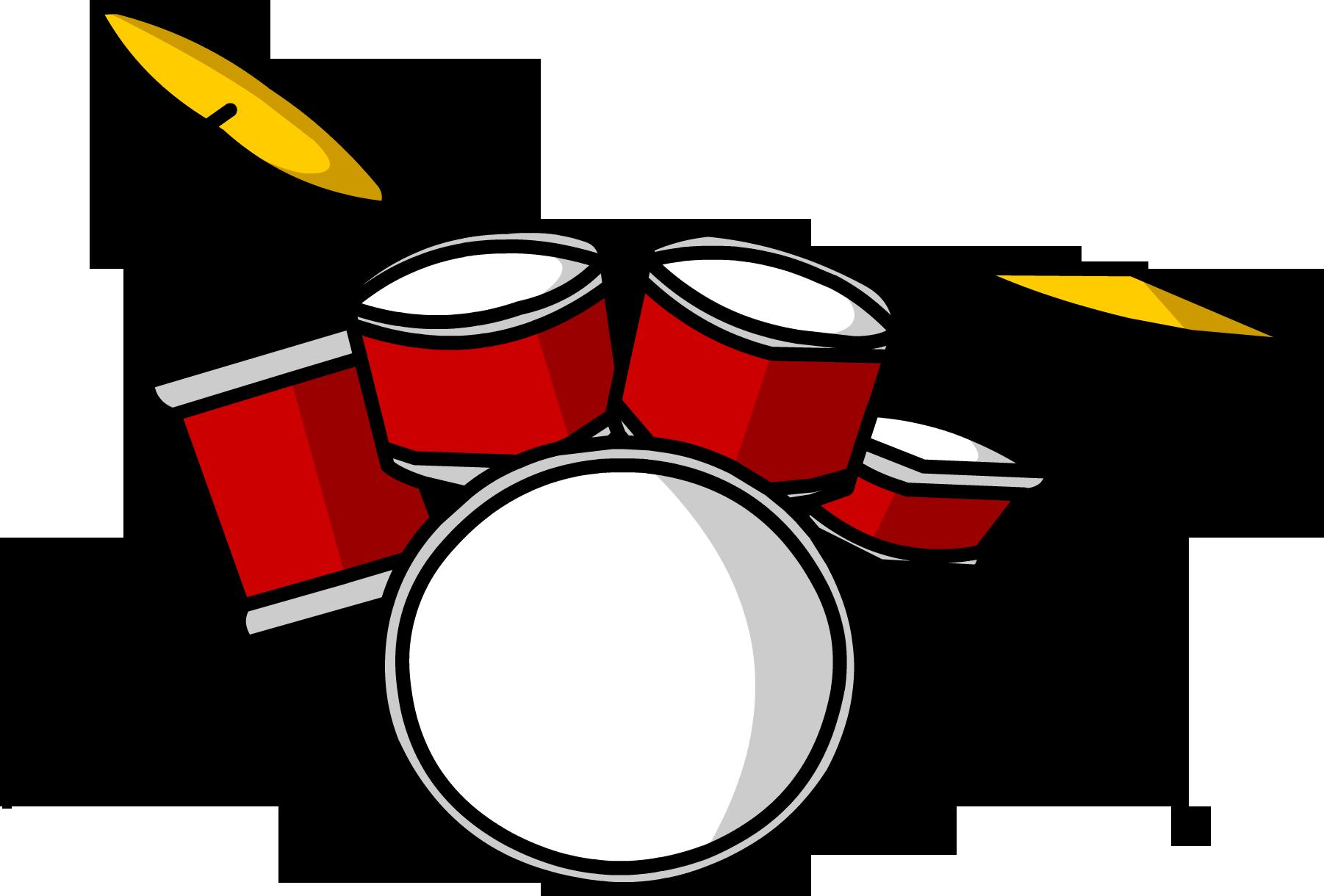Drum Set Clipart.