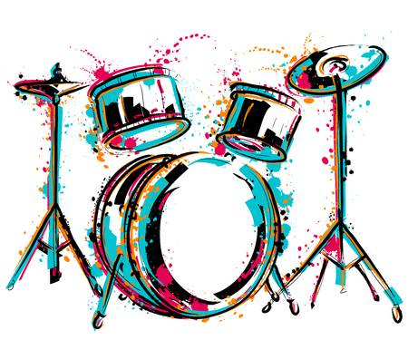 5 769 Drummer Stock Vector Illustration And Royalty Free Clipart.