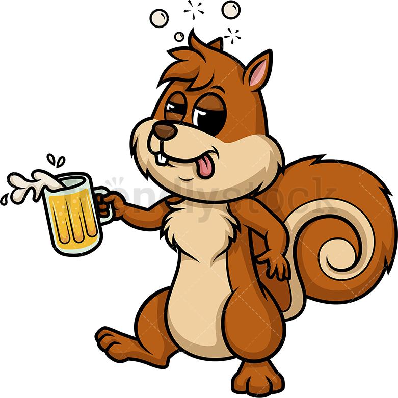 Drunk Squirrel.
