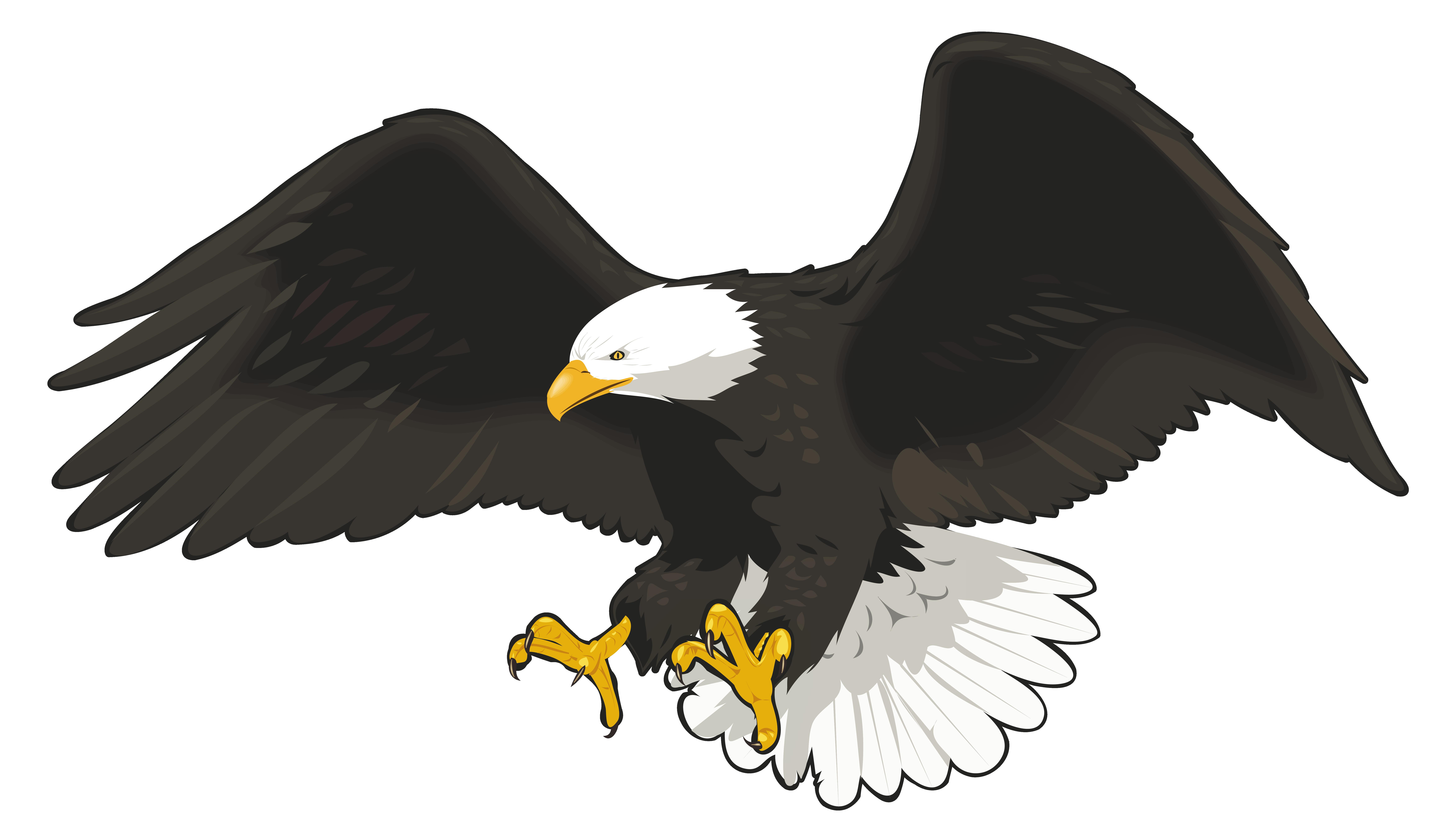 Eagle PNG PNG Clip Art Image.