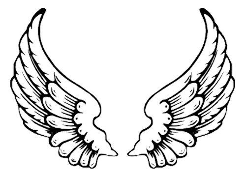 Clipart eagle wings outline 1 » Clipart Portal.
