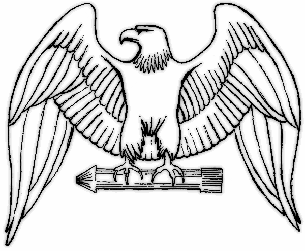 Free Eagle Outline Cliparts, Download Free Clip Art, Free Clip Art.