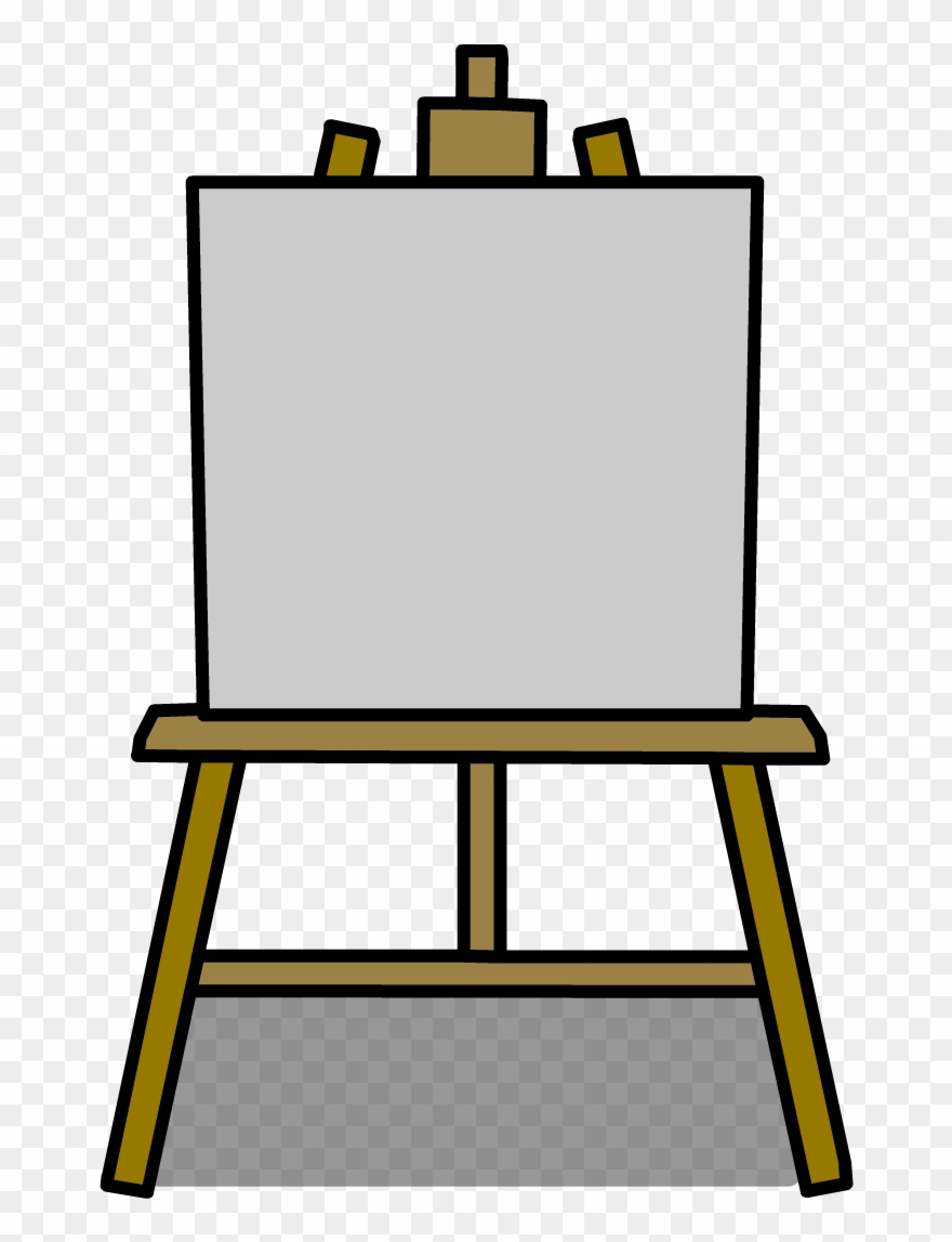 Poster Clipart Easel.