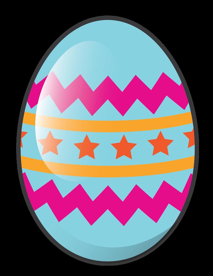 Easter Egg Clipart For Kids.