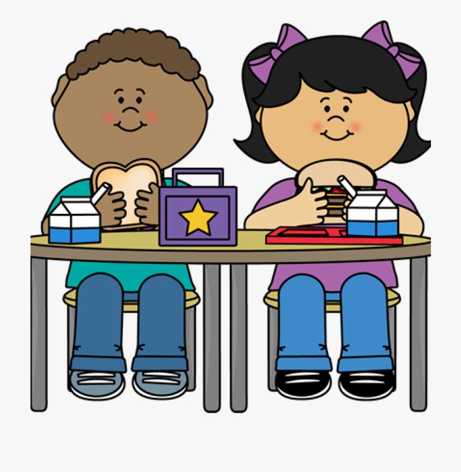 School Lunch Clipart Kids Eating Lunch Kindergarten.