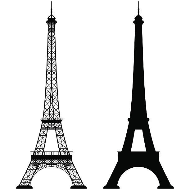 Best Eiffel Tower Illustrations, Royalty.