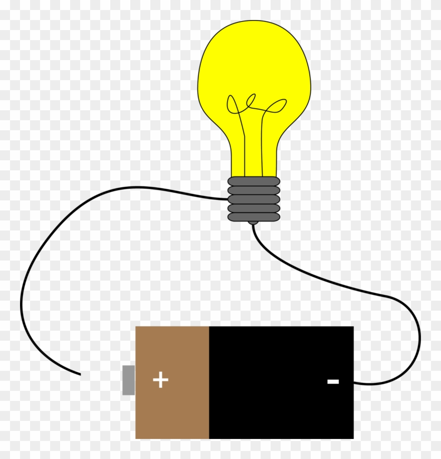 Bulb Clipart Electric Current.