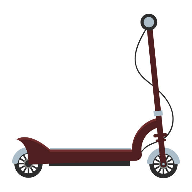 Best Electric Scooter Illustrations, Royalty.