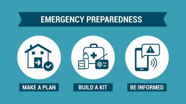 Best Emergency Preparedness Illustrations, Royalty.