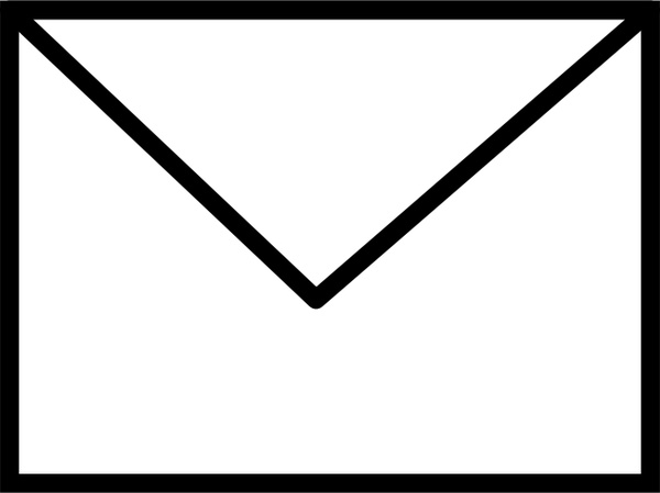 Envelope closed clip art 2.