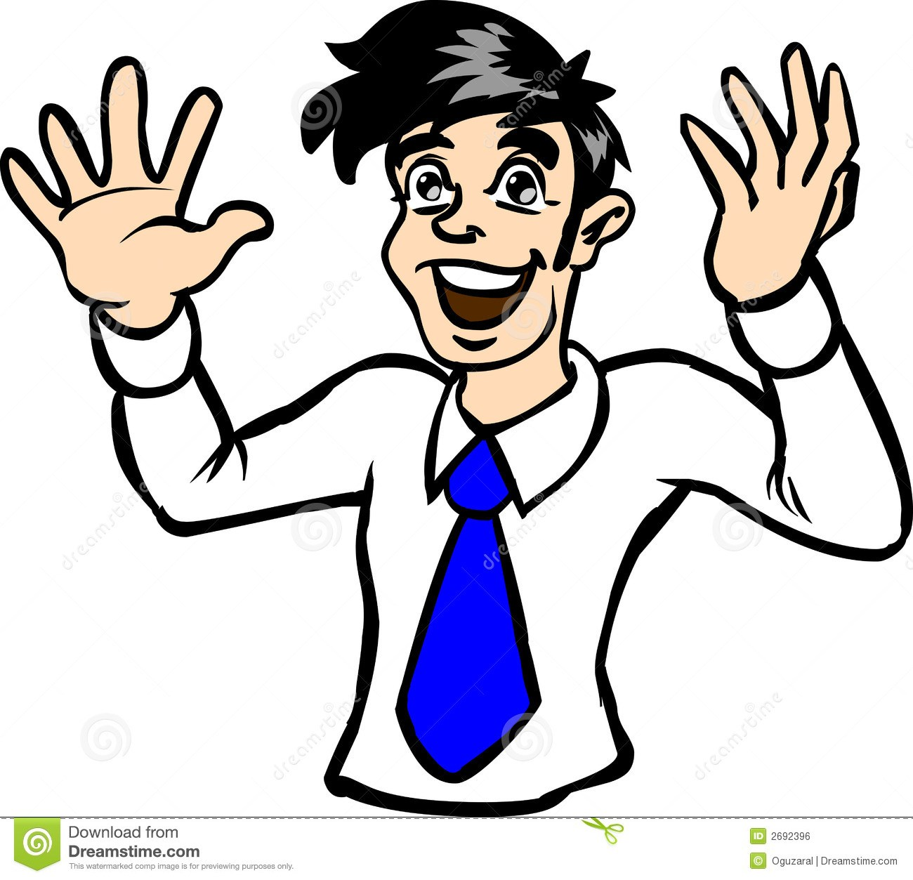 Clipart excited person 4 » Clipart Portal.