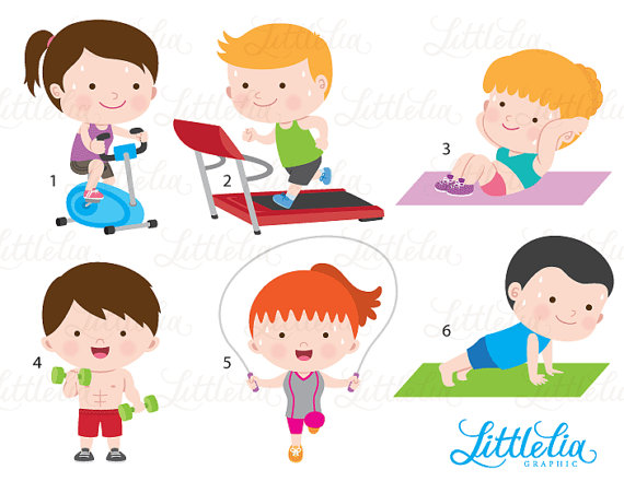 Gym Clipart Exercise Health 16078 Products Typical Lovable 0.