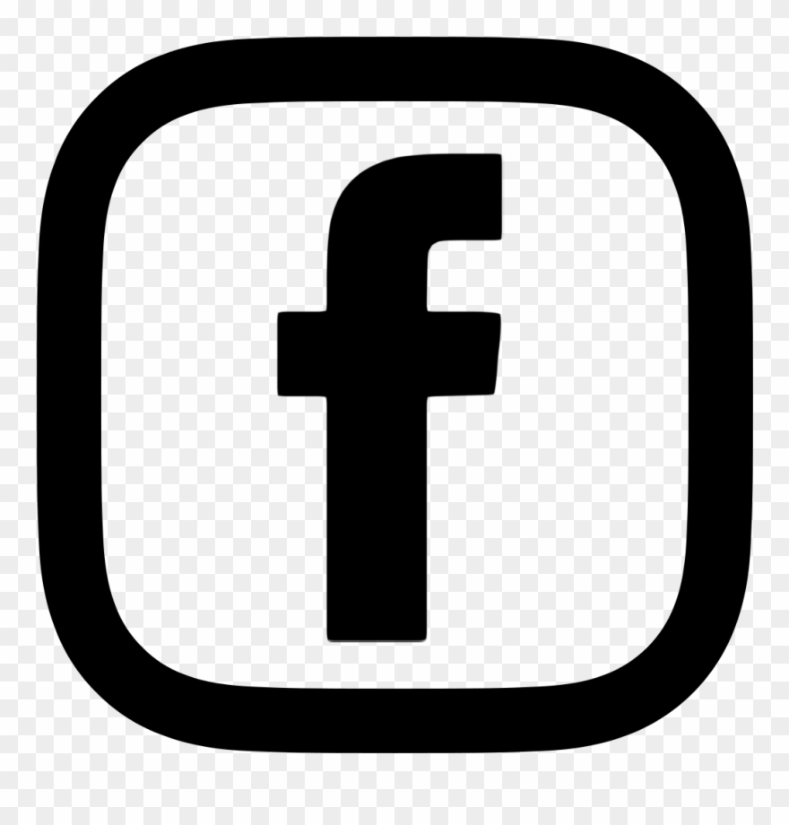 Facebook Logo Red Transparent.