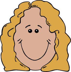 Lady Face Clip Art at Clker.com.