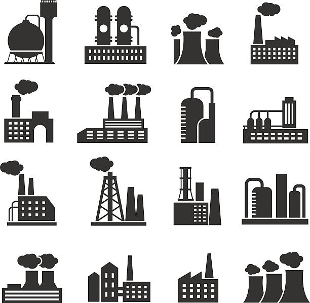 Best Factory Illustrations, Royalty.