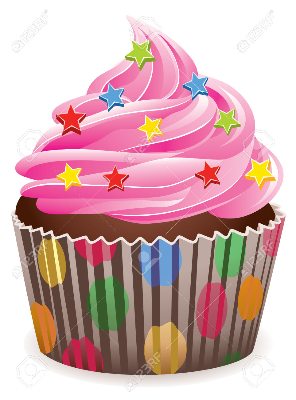 Fairy cakes clipart 6 » Clipart Station.