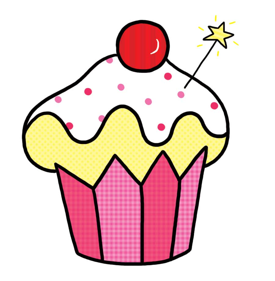 Fairy cake clipart 7 » Clipart Station.