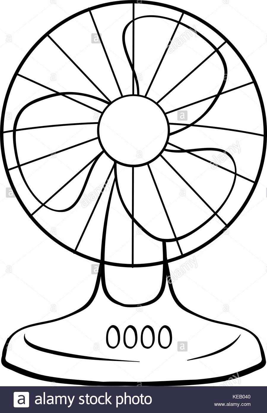 Clipart fan black and white 6 » Clipart Portal.