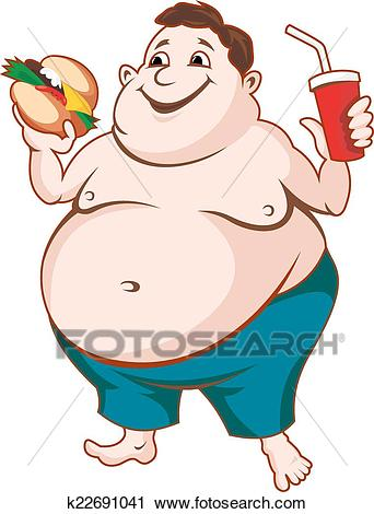 Fat person clipart 1 » Clipart Station.