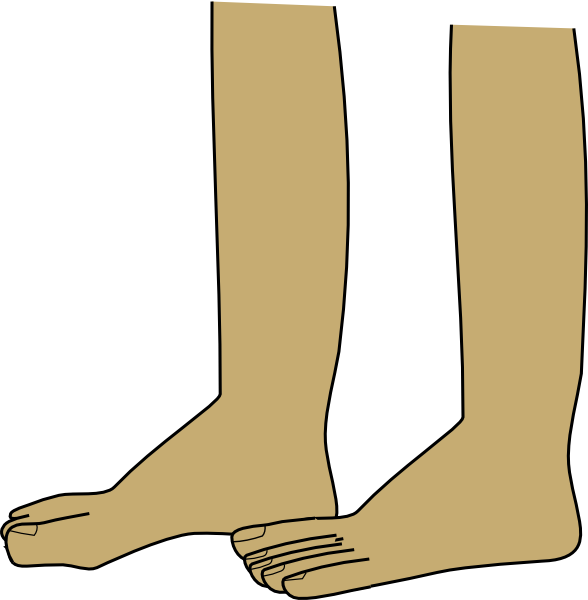 Feet Clip Art at Clker.com.