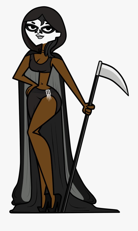 Grim Reaper Clipart Female ~ Frames ~ Illustrations.