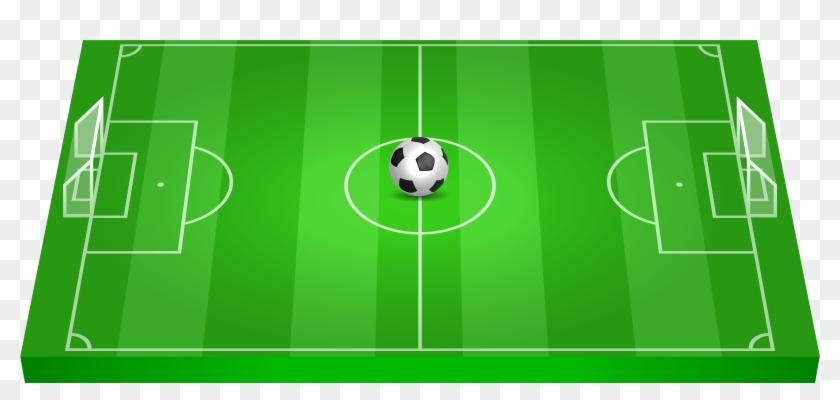Clip Art Football Field, HD Png Download.