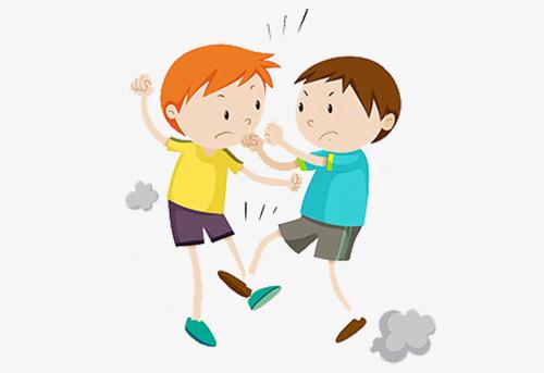 Download Free png Cartoon Boy Fights, Cartoon Clipart, Boy Clipart.