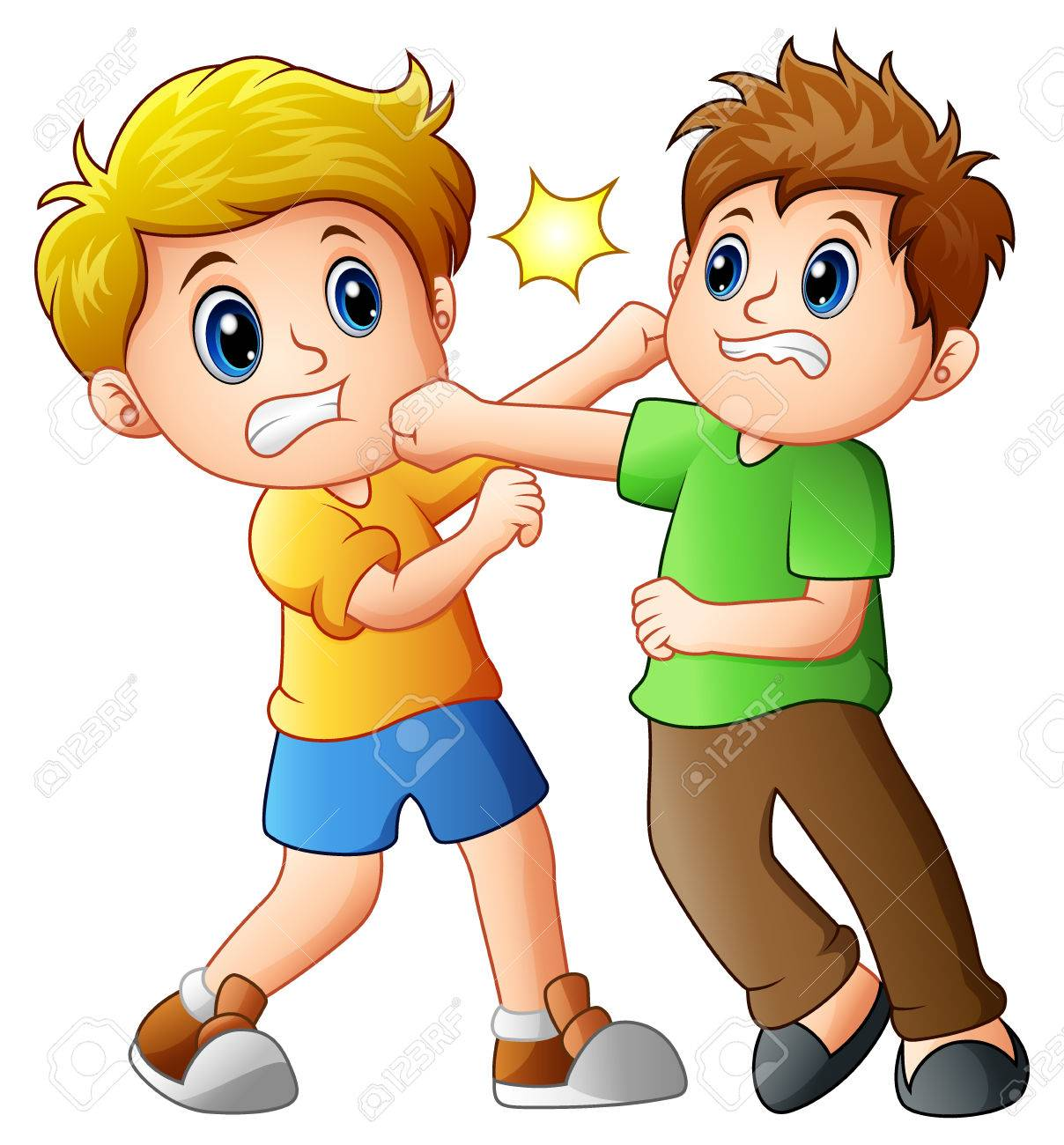 Clipart fighting 5 » Clipart Station.