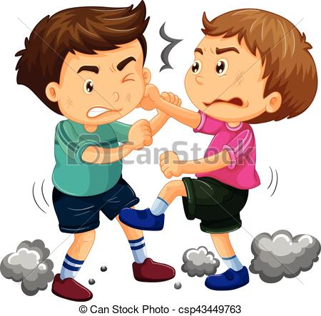 61+ Fighting Clipart.