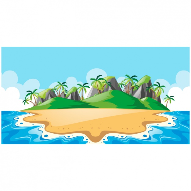 Island vectors photos and psd files free download clipart.