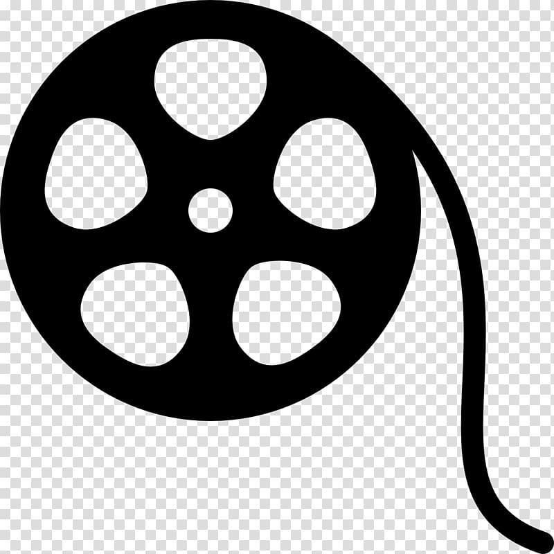 Film reel illustration, Roll film Logo Cinema, roll transparent.