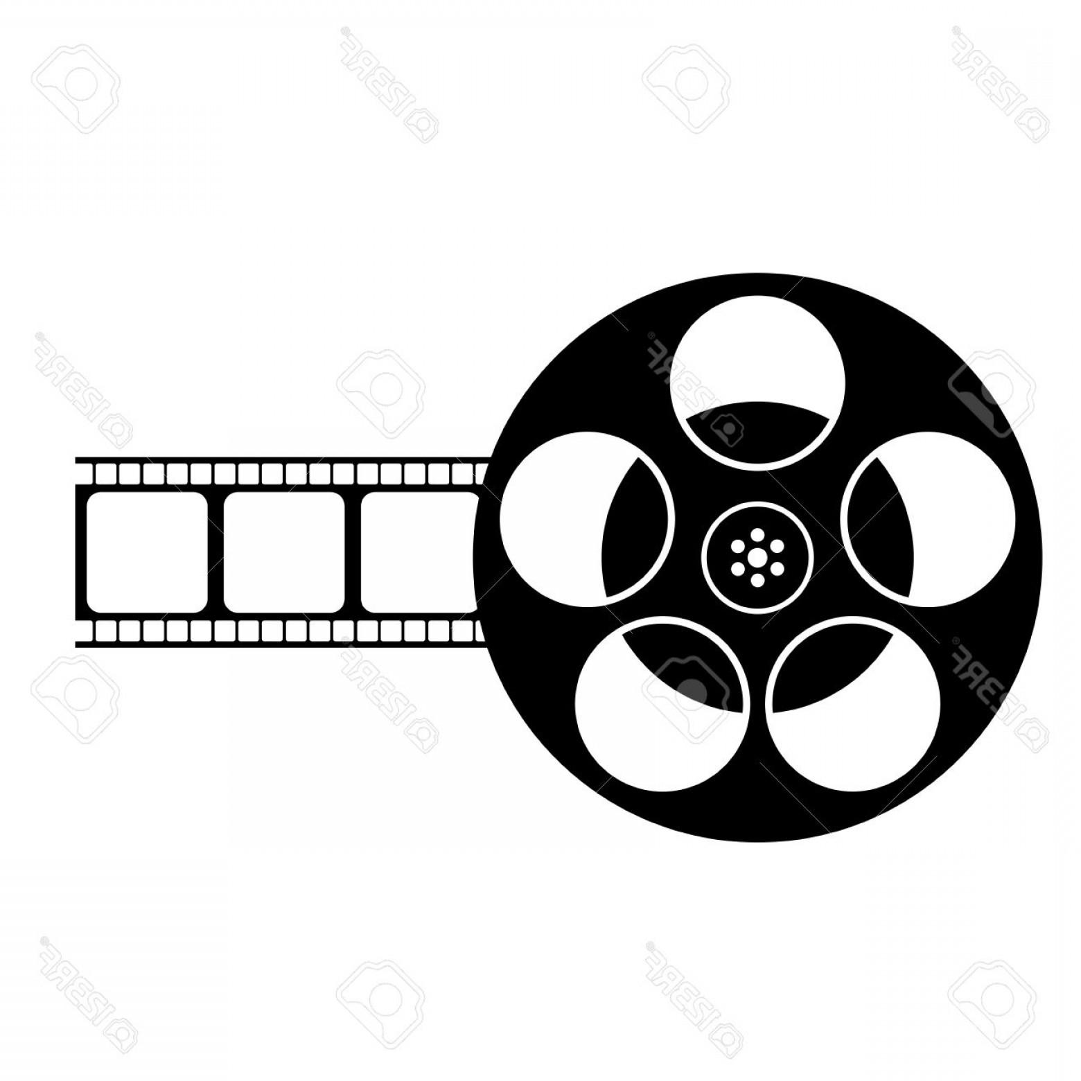 Film Reel Clipart Black And White.