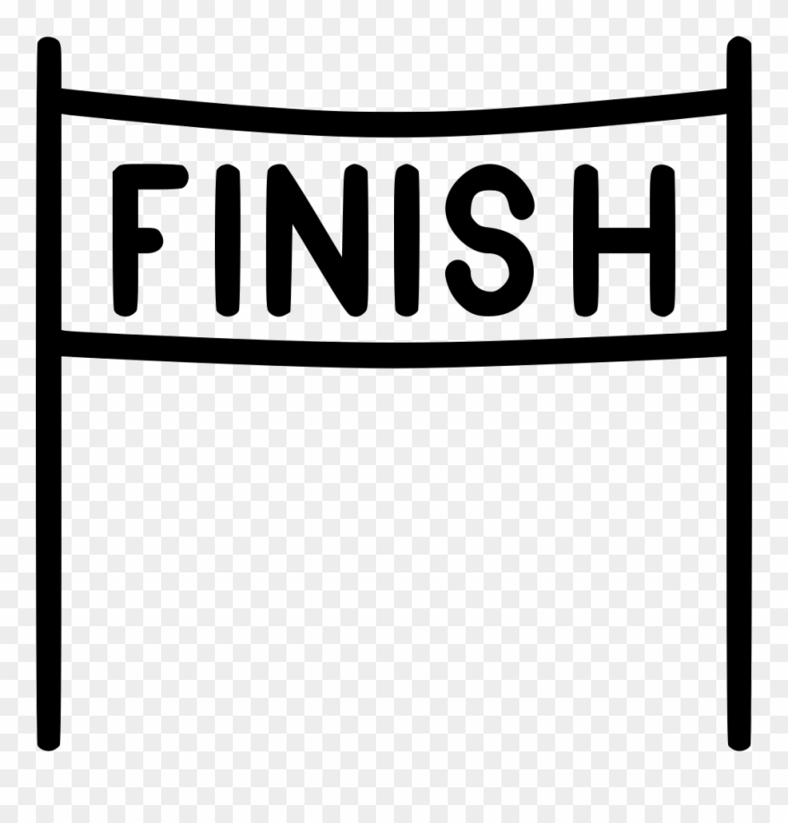 Finish Line Clipart End Race.