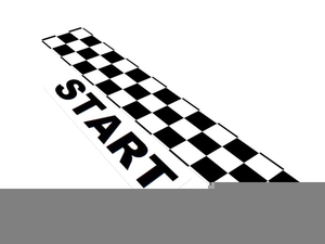 Free Clipart Finish Line Flag.
