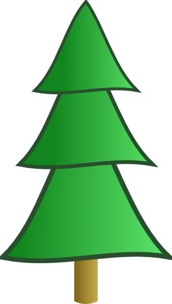 Fir Tree clip art Free vector in Open office drawing svg ( .svg.