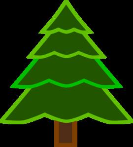 4 Layer Fir Tree Clip Art at Clker.com.