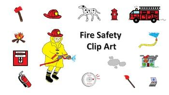 Free Fire Safety Clip Art.