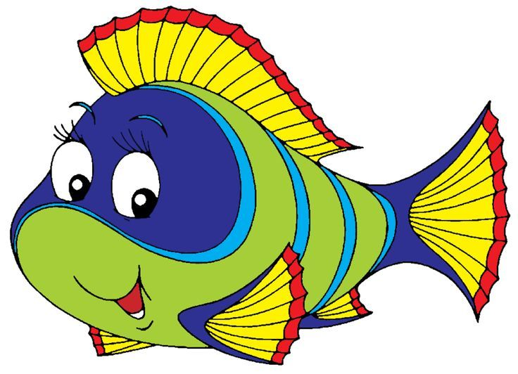 Images Of Cartoon Fish.