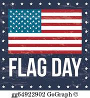 Flag Day Clip Art.