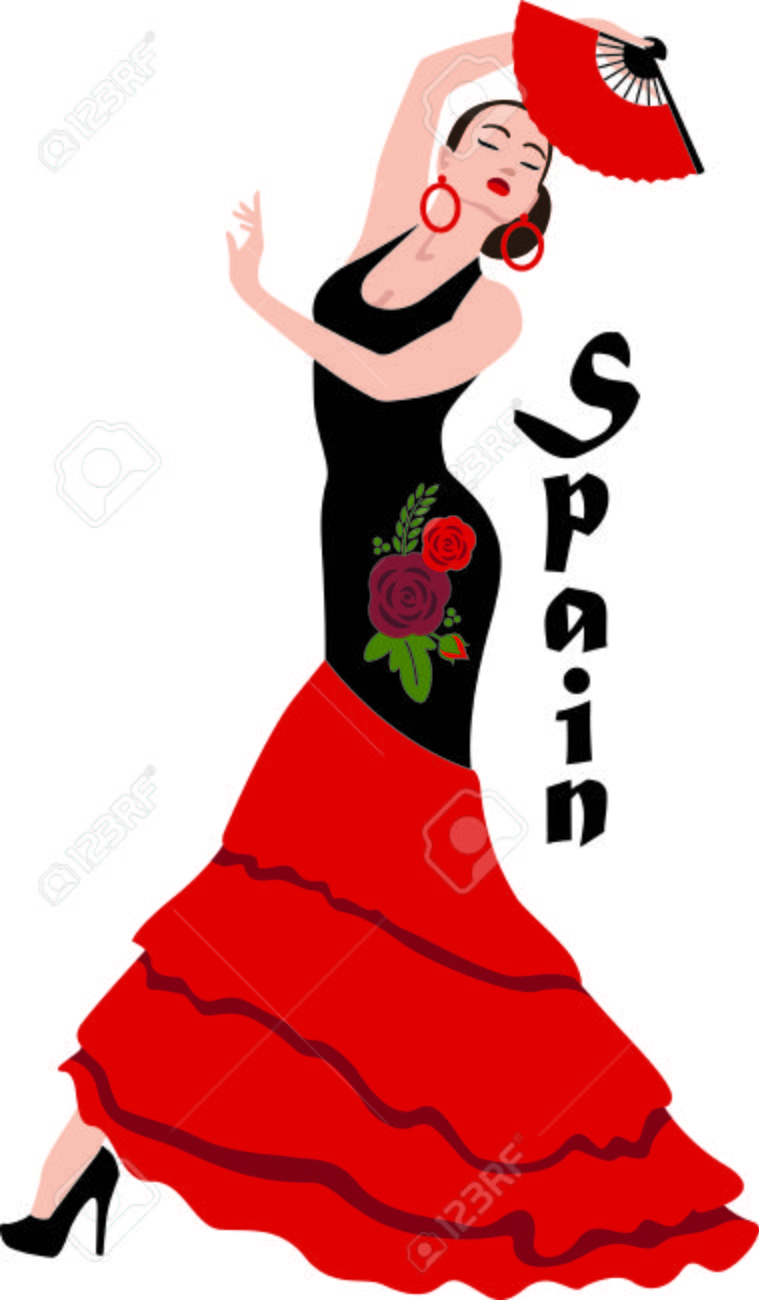 Flamenco dance clipart 8 » Clipart Station.