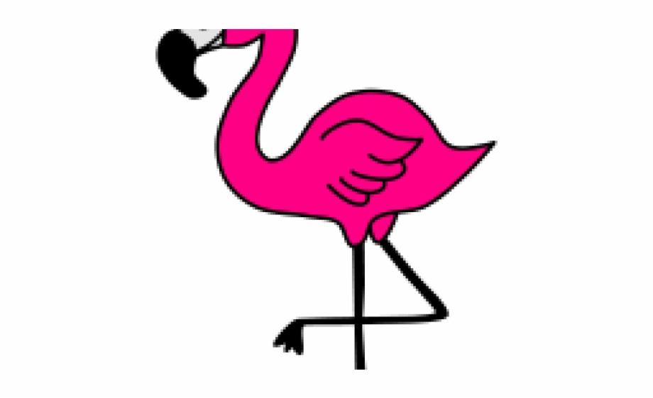 Flamingo Clipart Face.