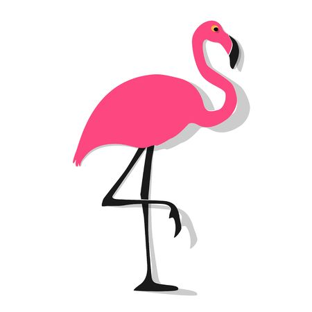 7,149 Pink Flamingo Stock Vector Illustration And Royalty Free Pink.