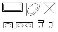Floor Plan Symbols.