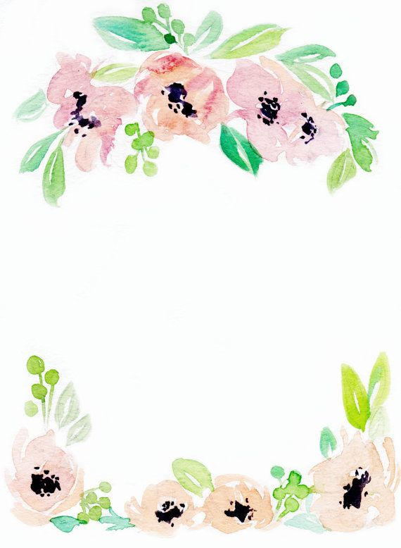 Downloadable floral border 3.