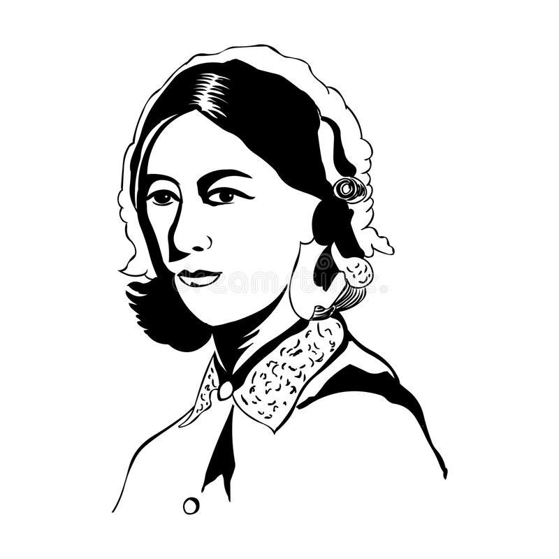 Florence Nightingale Stock Illustrations.