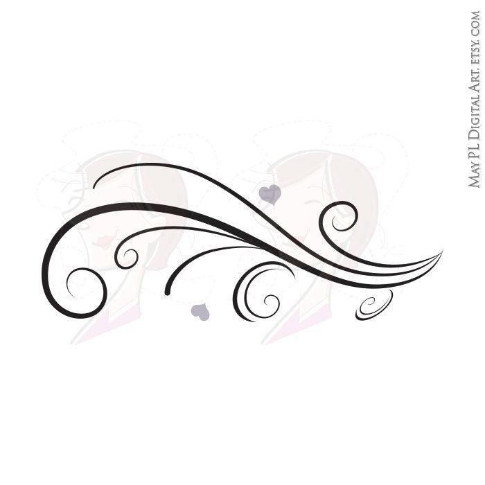 Clipart flourishes and swirls 2 » Clipart Portal.