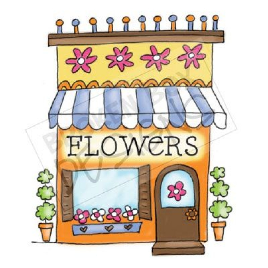 Flower Shop Clipart.