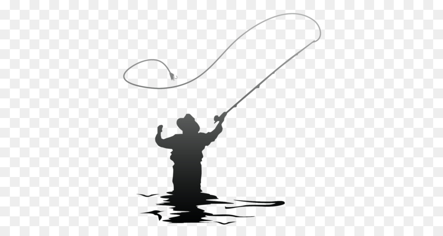 Free Fly Fishing Silhouette Clip Art, Download Free Clip Art, Free.