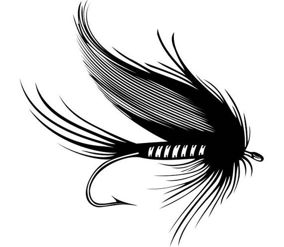 Clipart fly fishing 8 » Clipart Portal.
