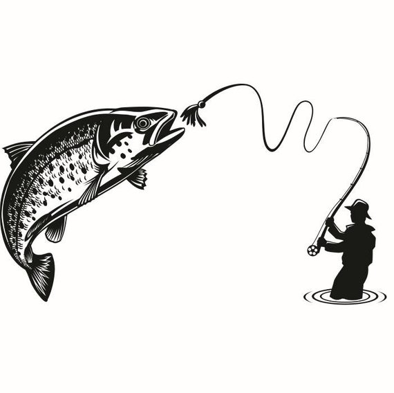 Trout Fish Drawing.